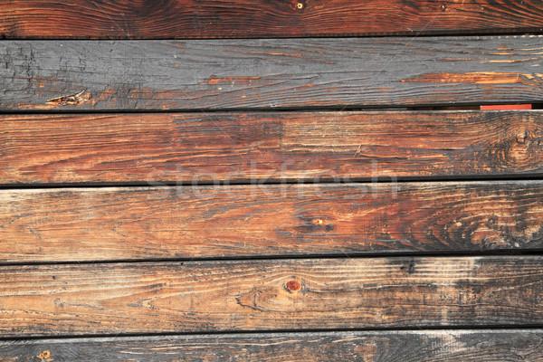 Vieux bois texture Nice naturelles bois Photo stock © jonnysek