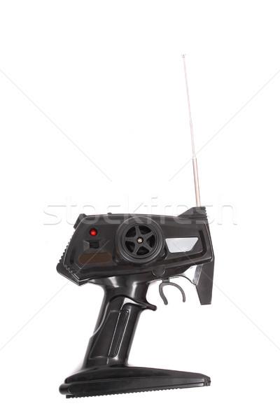 Siyah mesafe kontrol araba oyuncak iletişim Stok fotoğraf © jonnysek