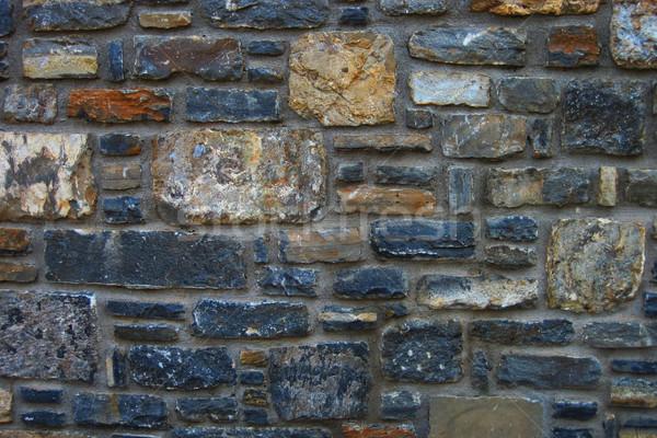 stones wall texture  Stock photo © jonnysek