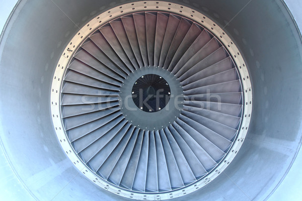 airplane turbine Stock photo © jonnysek