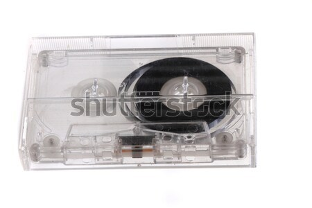 old audio cassette  Stock photo © jonnysek