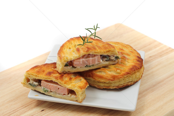 czech salmon bread Stock photo © jonnysek