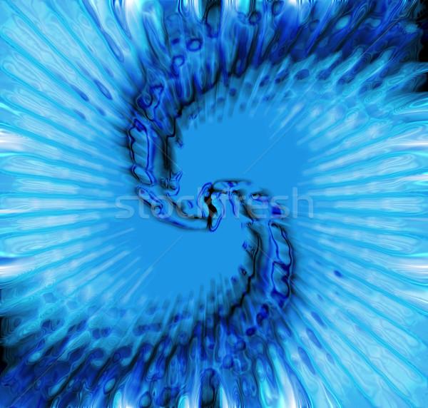 水 藍色 產生 質地 畫 技術 商業照片 © jonnysek
