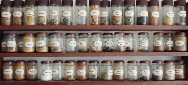 spice tray Stock photo © jonnysek