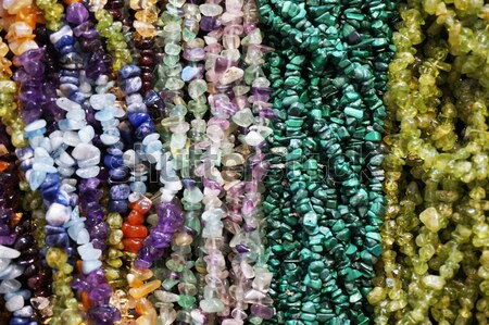 jewellery from colors naturals gems  Stock photo © jonnysek