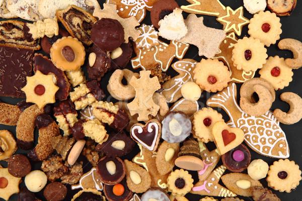 Foto stock: Natal · sobremesas · bolinhos · República · Checa · tradicional · textura