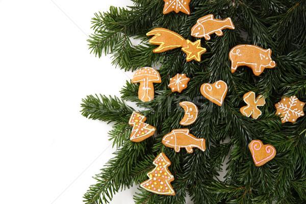 ginger bread  Stock photo © jonnysek
