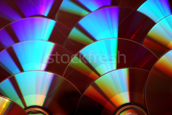 CD and dvd background Stock photo © jonnysek