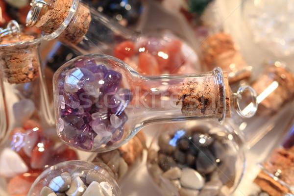 Abstract mineraal textuur mooie natuurlijke natuur Stockfoto © jonnysek