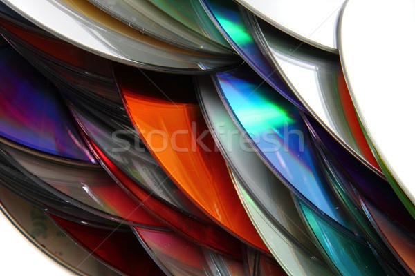 компакт-диск технологий Nice компьютер музыку связи Сток-фото © jonnysek