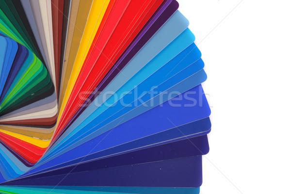 color palette Stock photo © jonnysek