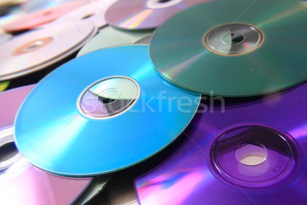 Renk cd veri güzel teknoloji iş Stok fotoğraf © jonnysek