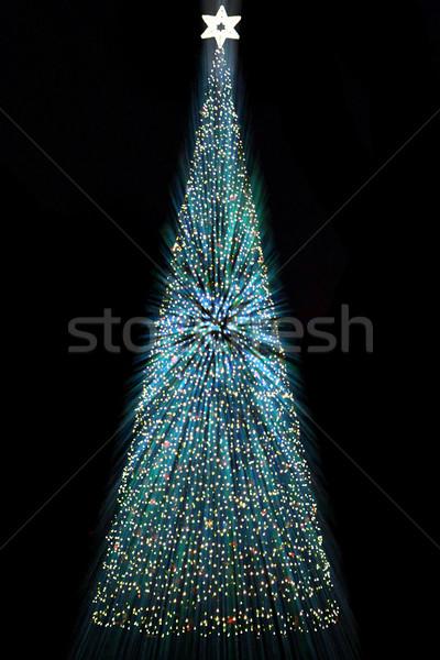 christmas tree in Ostrava Stock photo © jonnysek