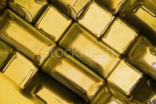 Golden Steine Textur nice natürlichen Bau Stock foto © jonnysek
