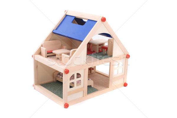 дома игрушку Nice изолированный белый ребенка Сток-фото © jonnysek