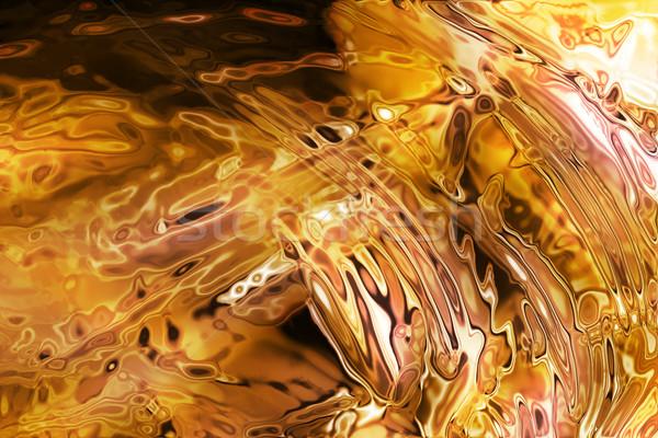 Abstrato textura fogo gerado fundo vermelho Foto stock © jonnysek
