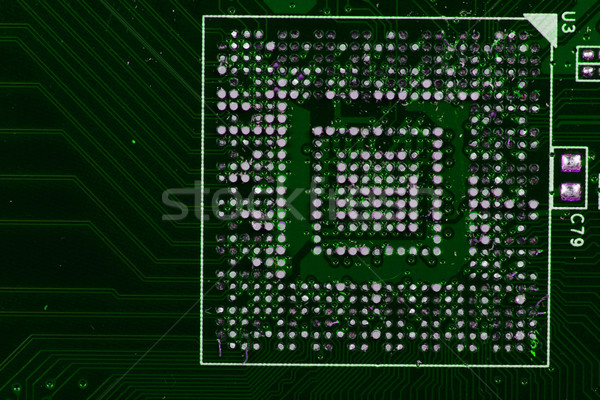 computer chip texture  Stock photo © jonnysek