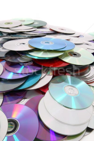 Cd teknoloji güzel bilgisayar müzik iletişim Stok fotoğraf © jonnysek