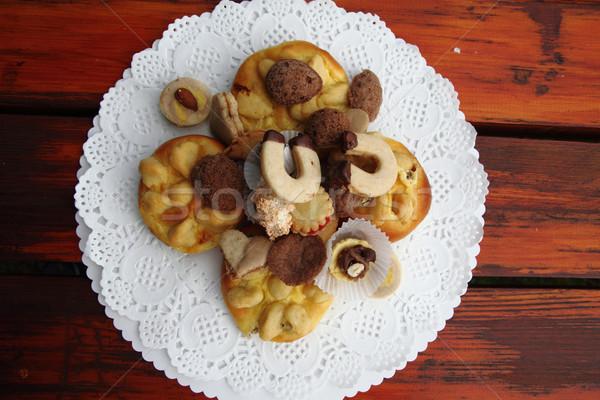 チェコ語 結婚式 ケーキ いい 食品 幸せ ストックフォト © jonnysek