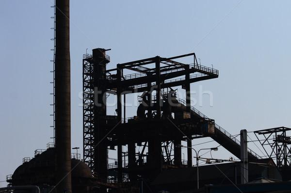 steel factory Stock photo © jonnysek
