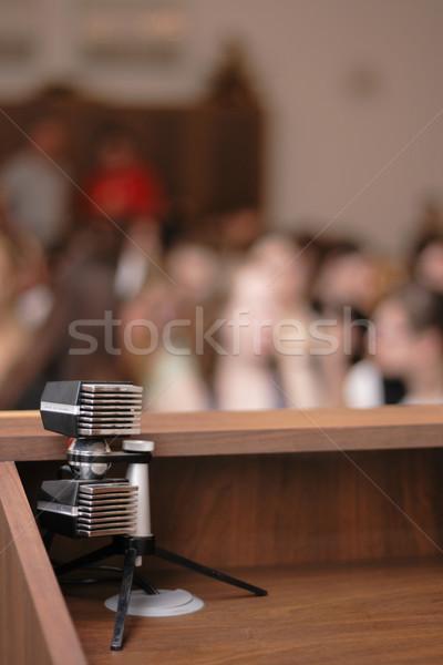 microphone  Stock photo © jonnysek