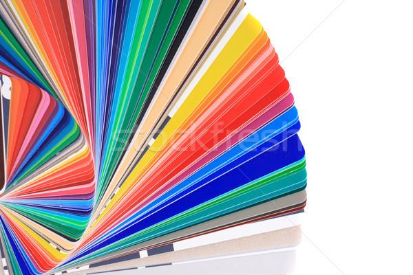 color palette background Stock photo © jonnysek