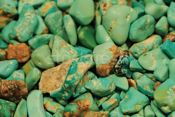 turqoise mineral background Stock photo © jonnysek