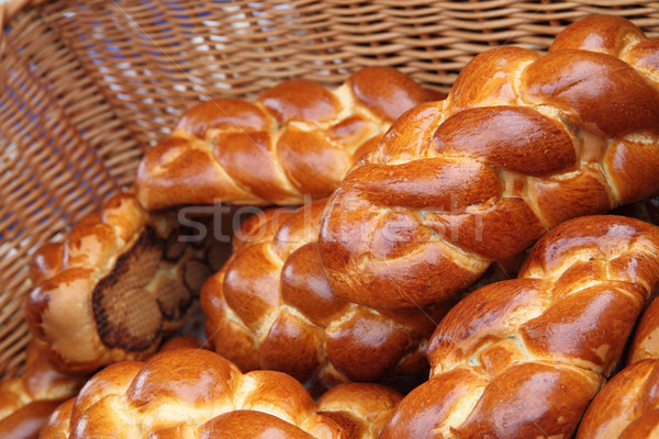czech chritsmas bread Stock photo © jonnysek