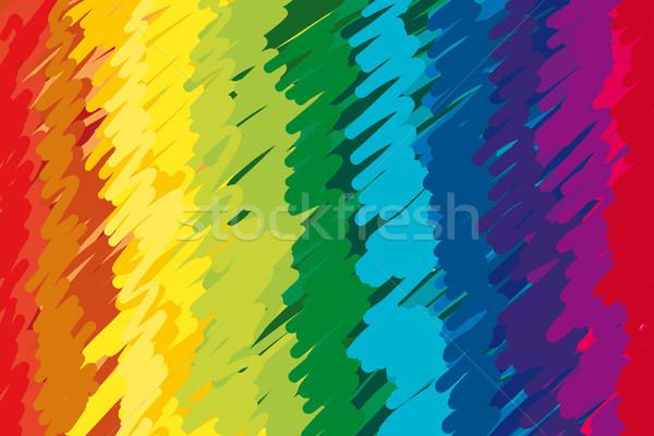 abstract color twirl background Stock photo © jonnysek