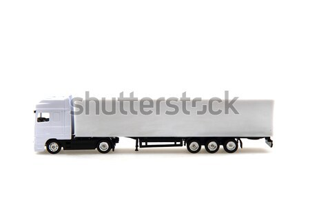 white truck isolated Stock photo © jonnysek