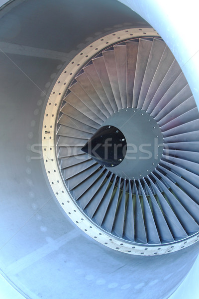 aircraft turbine  Stock photo © jonnysek