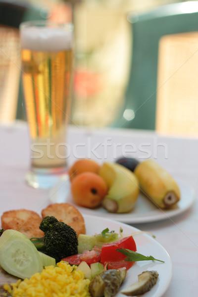 vegetarian dinner Stock photo © jonnysek