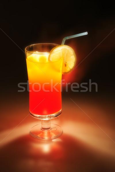 fresch orange and lemon drink Stock photo © jonnysek