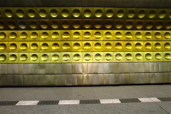 subway station background  Stock photo © jonnysek