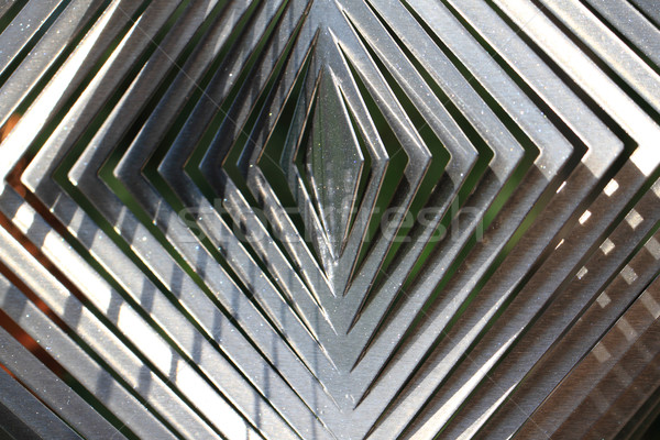 silver metal background Stock photo © jonnysek