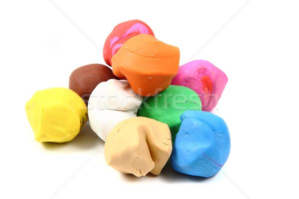 color plasticine  Stock photo © jonnysek