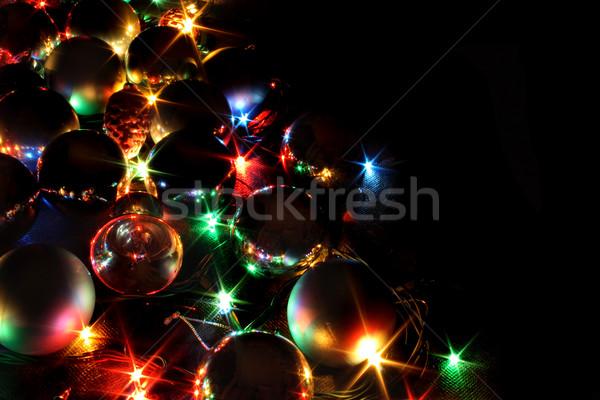 xmas background Stock photo © jonnysek