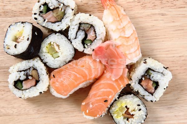 Gésa szusi szép étel hal japán Stock fotó © jonnysek