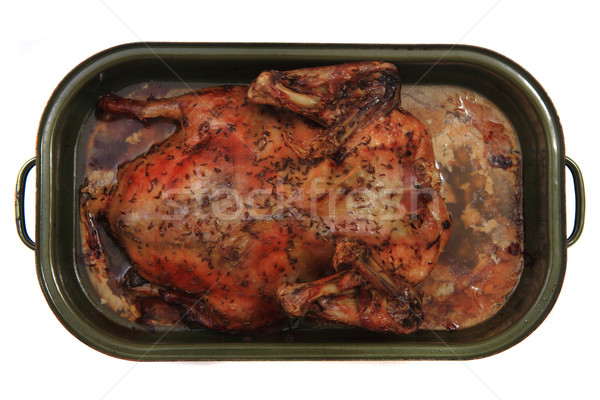 fried duck  Stock photo © jonnysek