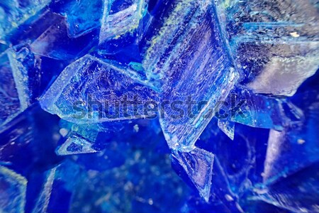 blue vitriol mineral background Stock photo © jonnysek