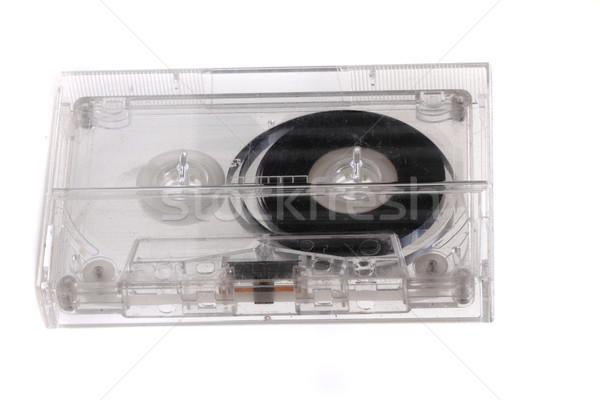 old audio cassette  Stock photo © jonnysek