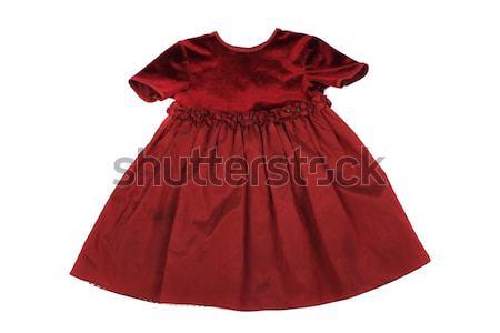 red dress for little princess Stock photo © jonnysek
