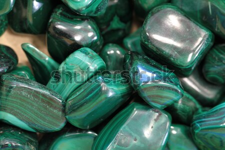 Malachit mineralny zielone tekstury streszczenie projektu Zdjęcia stock © jonnysek