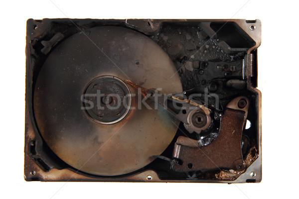 damaged harddrive (all data deleted) Stock photo © jonnysek