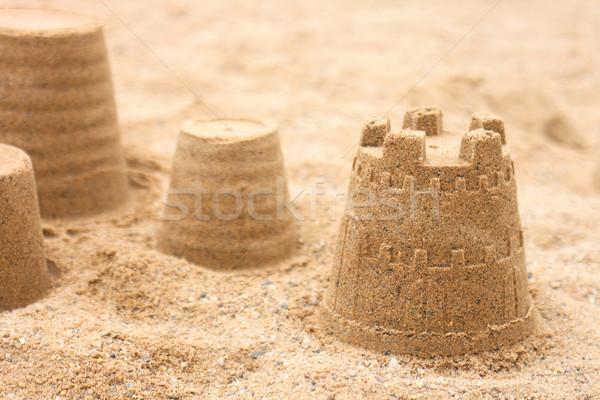 sand objects  Stock photo © jonnysek