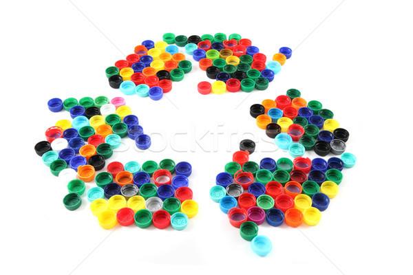 recycled symbol Stock photo © jonnysek