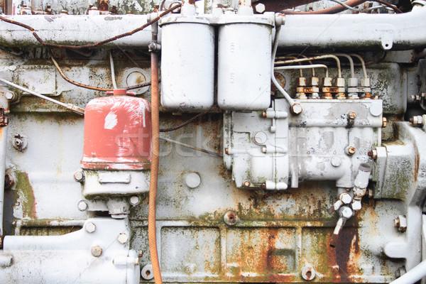 Mine museo cavallo treno industria Foto d'archivio © jonnysek