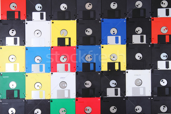 floppy discs Stock photo © jonnysek