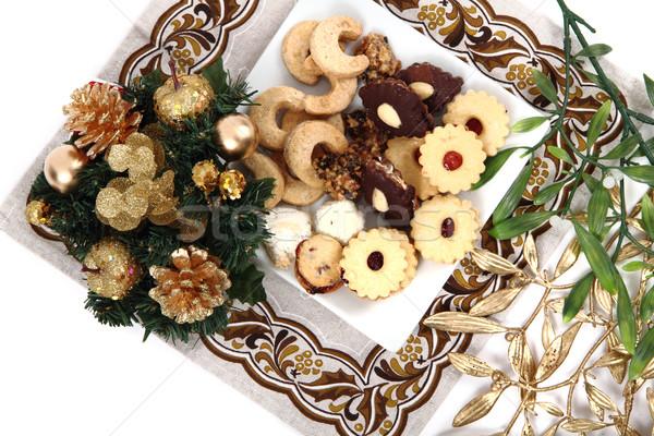 christmas desserts and cookies from czech republic  Stock photo © jonnysek