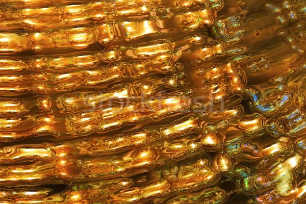 Abstract tessitura oro nice lusso luce Foto d'archivio © jonnysek